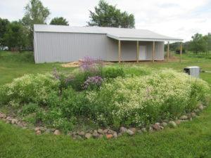 pole barn and herb mountain